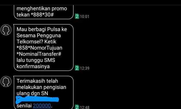 sms notifikasi pengisian pulsa 630x380 Cara Dapat Pulsa Gratis Rp.200.000 dari YouGov