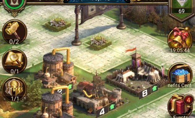 city in rise of empire castle 630x380 Membangun Kerajaan Naga, Bertempur dan Beraliansi di Rise of Empires