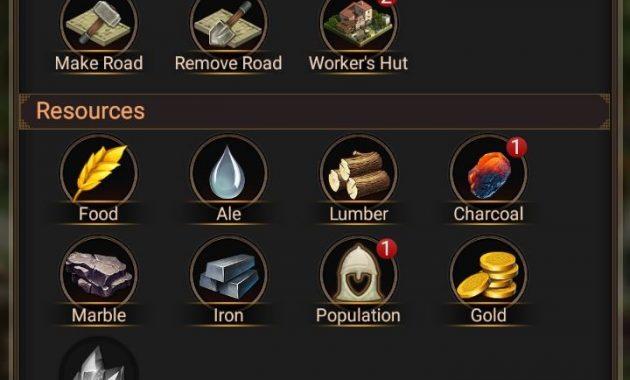 roe building menu 630x380 Membangun Kerajaan Naga, Bertempur dan Beraliansi di Rise of Empires